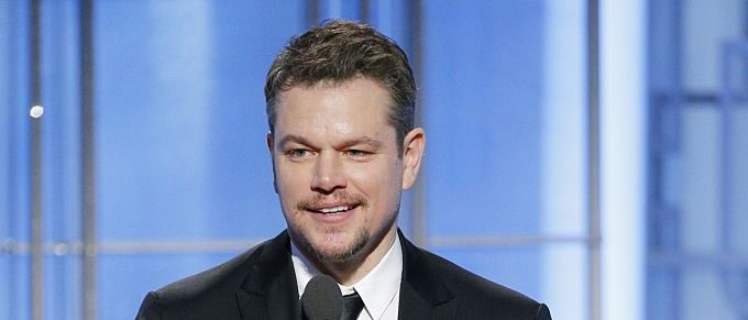Matt Damon (Photo credit: Getty Images)