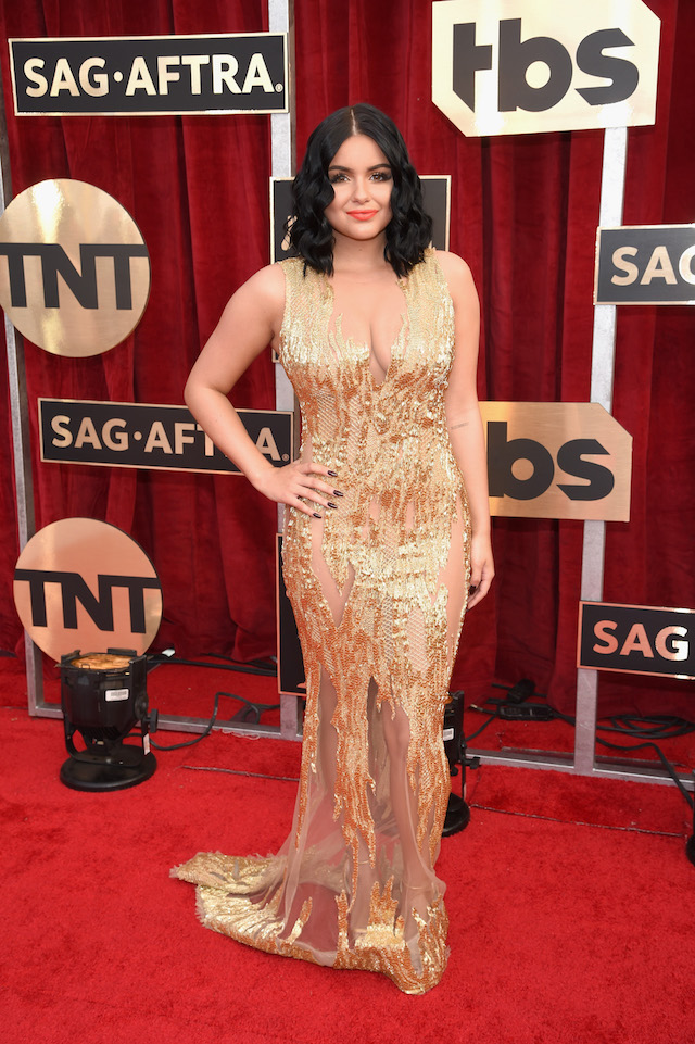 LOS ANGELES, CA - JANUARY 29: Actress Ariel Winter attends The 23rd Annual Screen Actors Guild Awards at The Shrine Auditorium on January 29, 2017 in Los Angeles, California. 26592_009 (Photo by Dimitrios Kambouris/Getty Images for TNT)