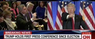 Jim Acosta, Donald Trump (CNN)