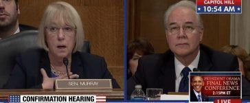 Patty Murray, Tom Price (MSNBC)