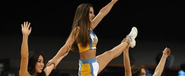 UCLA cheerleader (Photo credit: Getty Images)
