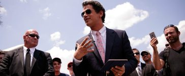 Milo Yiannopoulos in June 2016: (Photo by Drew Angerer/Getty Images)