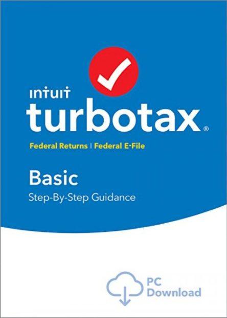 Normally $30, TurboTax Basic is 5 percent off (Photo via Amazon)