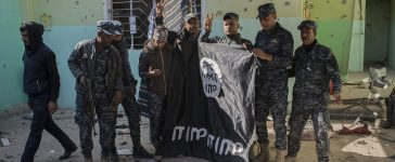 Iraqi Forces Emergency Response Unit Begins Offensive To Drive Islamic State From Western Mosul, Iraq