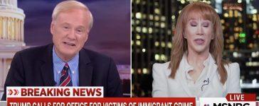 Chris Matthews, Kathy Griffin (MSNBC)