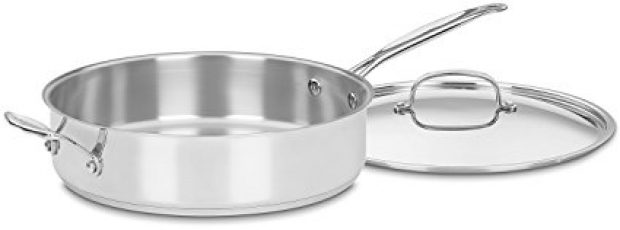 Normally $140, this sauté pan is 71 percent off (Photo via Amazon)