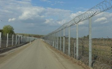 Hungary's double fence stretches 96 miles along its southern border to Serbia. (Jacob Bojesson/The Daily Caller News Foundation)