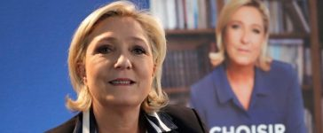 Marine Le Pen, French National Front (FN) candidate for 2017 presidential election, poses before an interview with Reuters in Paris, France, May 2, 2017. REUTERS/Charles Platiau