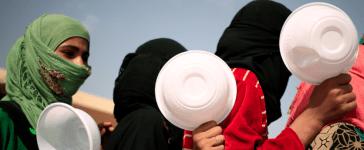 Women Flee ISIS Stronghold of Hawijah, Reuters, Zohra Bensemra