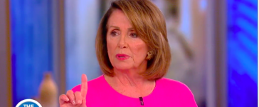 Nancy Pelosi on The View (photo by: YouTube Screenshot)