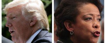 Donald Trump, Loretta Lynch (Getty Images)