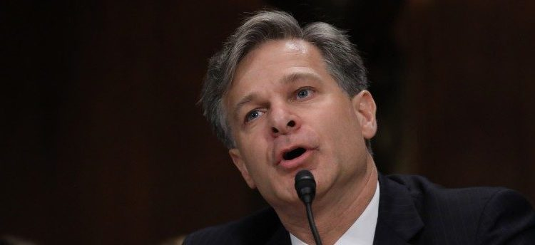 Christopher Wray testifies before a Senate Judiciary Committee confirmation hearing on his nomination to be the next FBI director on Capitol Hill in Washington, July 12, 2017. REUTERS/Carlos Barria