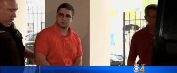 Cosmo DiNardo in custody (Screenshot/YouTube/CBS Boston)