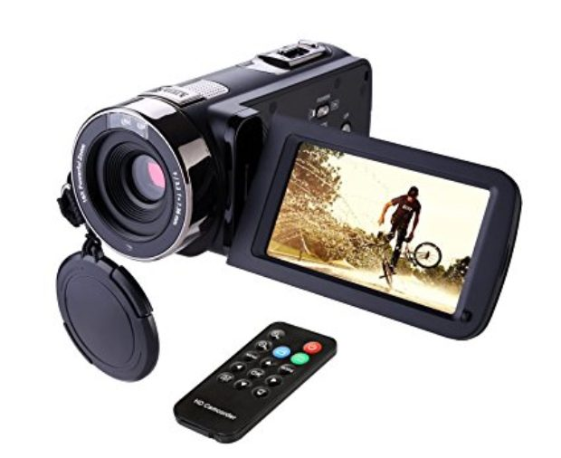 Normally $120, this camcorder is 26 percent off today (Photo via Amazon)