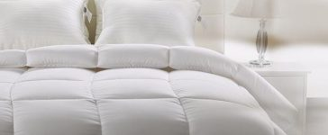 This comforter promises a celestial sleeping experience (Photo via Amazon)