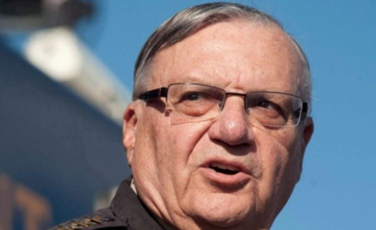 FILE PHOTO: Maricopa County Sheriff Joe Arpaio announces newly launched program aimed at providing security around schools in Anthem, Arizona, U.S. January 9, 2013. REUTERS/Laura Segall/File Photo/File Photo