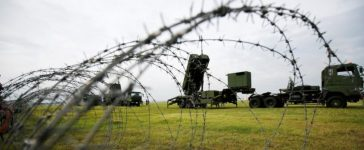 Japan Self-Defense Forces (JSDF) soldiers take part in a drill to mobilise their Patriot Advanced Capability-3 (PAC-3) missile unit in response to a recent missile launch by North Korea, at U.S. Air Force Yokota Air Base in Fussa on the outskirts of Tokyo, Japan August 29, 2017. REUTERS/Issei Kato