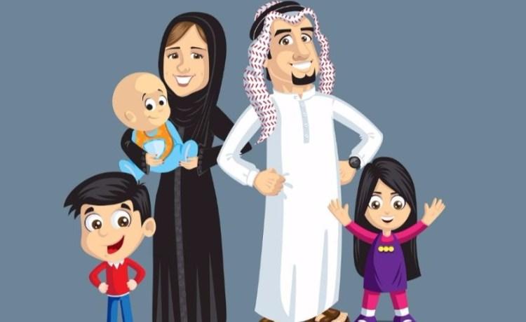 Muslim family Shutterstock/smrdesigns