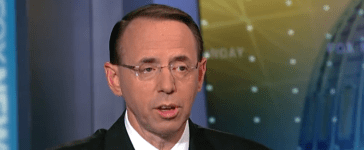 Fox News screenshot/Rod Rosenstein addresses efforts to stop White House leaks/ Fox News