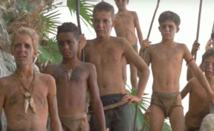 Lord of the Flies (Credit: Screenshot/YouTube Movieclips)