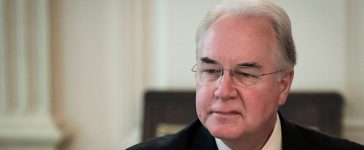 WASHINGTON, DC - SEPTEMBER 28: U.S. Heath and Human Services Secretary Tom Price attends a listening session regarding the opioid crisis hosted by First Lady Melanie Trump in the State Dining Room of the White House, September 28, 2017 in Washington, DC. President Donald Trump was critical of Price's use of private chartered jets for official travel and said that he was 'not happy' with Price. (Photo by Drew Angerer/Getty Images)