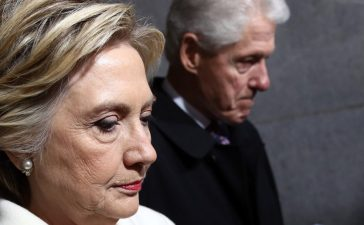 Hillary and Bill Clinton (Getty images)