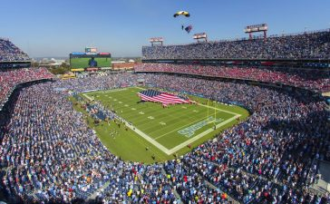 Tennessee Titans Stadium (Photo: Shutterstock)