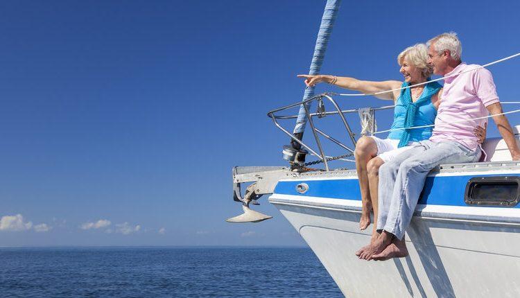 Elderly couple on yacht (Photo: Shutterstock)