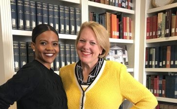 Candace Owens Interviews With Ginni Thomas -- Sean Moody/TheDCNF