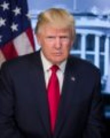 First official portrait of President Donald Trump (Photo: White House/Released)