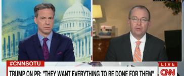 Mulvaney CNN screenshot