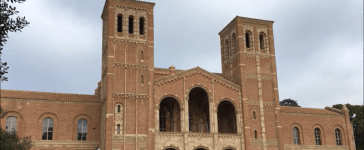 This photo features Royce Hall at the University of California, Los Angeles. (Photo Credit: YouTube/The Campus Quad)