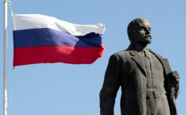 The Wider Image: Monuments of Lenin 100 years after Russian Revolution