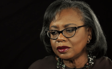 Anita Hill speaks to the Washington Post in Nov. 2017. (YouTube screenshot/Washington Post)