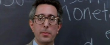 Ben Stein teachers in Ferris Buellers Day Off YouTube sceenshot/Directors Chair