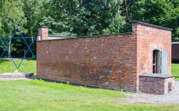 Gas chamber at Stutthof (shutterstock/Robson90)