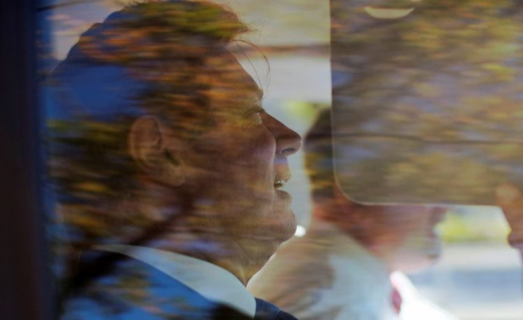 Paul Manafort leaves U.S. Federal Court, after being arraigned on federal charges in Washington, U.S. October 30, 2017. REUTERS/James Lawler Duggan