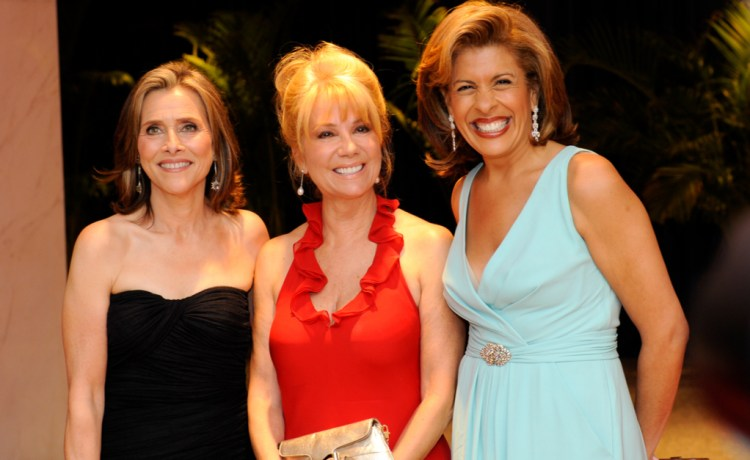 WASHINGTON MAY 1 - Meredith Vieira Kathie Lee Gifford and Hota Kotb pose at the White House Correspondents Association Dinner May 1, 2010 in Washington, D.C. (Photo: Shutterstock/ Rena Schlid)