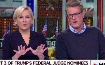 "MSNBC's ""Morning Joe"" on Nov. 15, 2017. (Photo: Screenshot/MSNBC)"