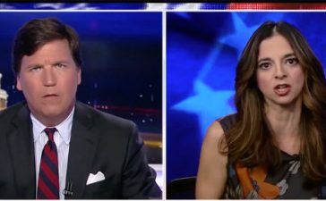 Tucker Areu Fox News screenshot