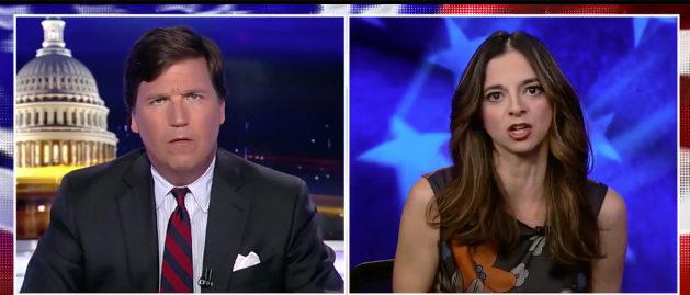 Tucker Areu Fox News screenshot