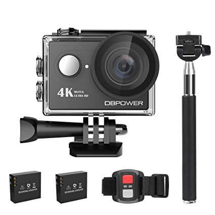Normally $74, this 4K action camera is 35 percent off with this code (Photo via Amazon)