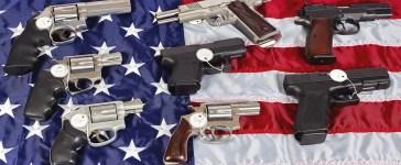 guns and flag Shutterstock/ja-images