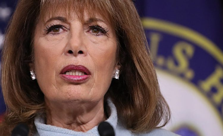 WASHINGTON, DC - NOVEMBER 15: Rep. Jackie Speier (R) (D-CA) speaks at a press conference on sexual harassment in Congress on November 15, 2017 in Washington, DC. Sen. Kirsten Gillibrand and Speier announced the introduction of bipartisan legislation to prevent and respond to sexual harassment in Congress. (Photo by Win McNamee/Getty Images)