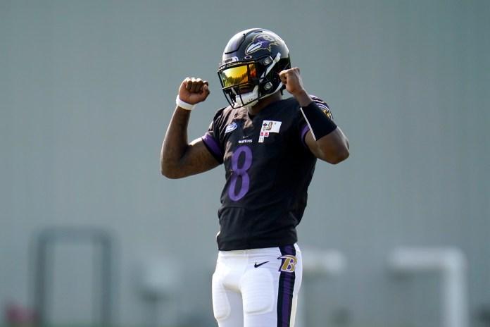 Baltimore Raven's quarterback Lamar Jackson