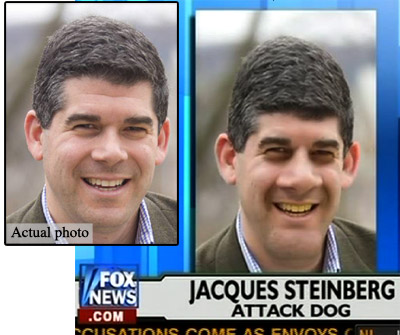 Jacques Steinberg - Before and After Fox News\'s Photoshop