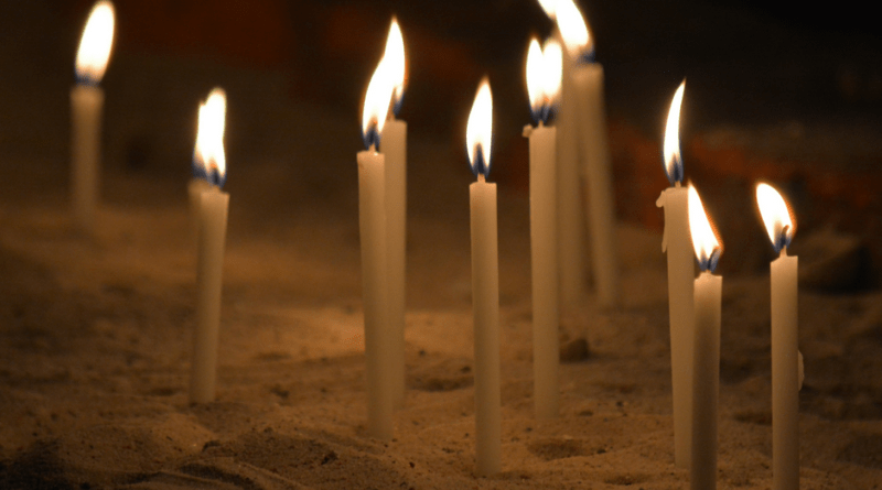Candles Prayer for Peace Eternal Life