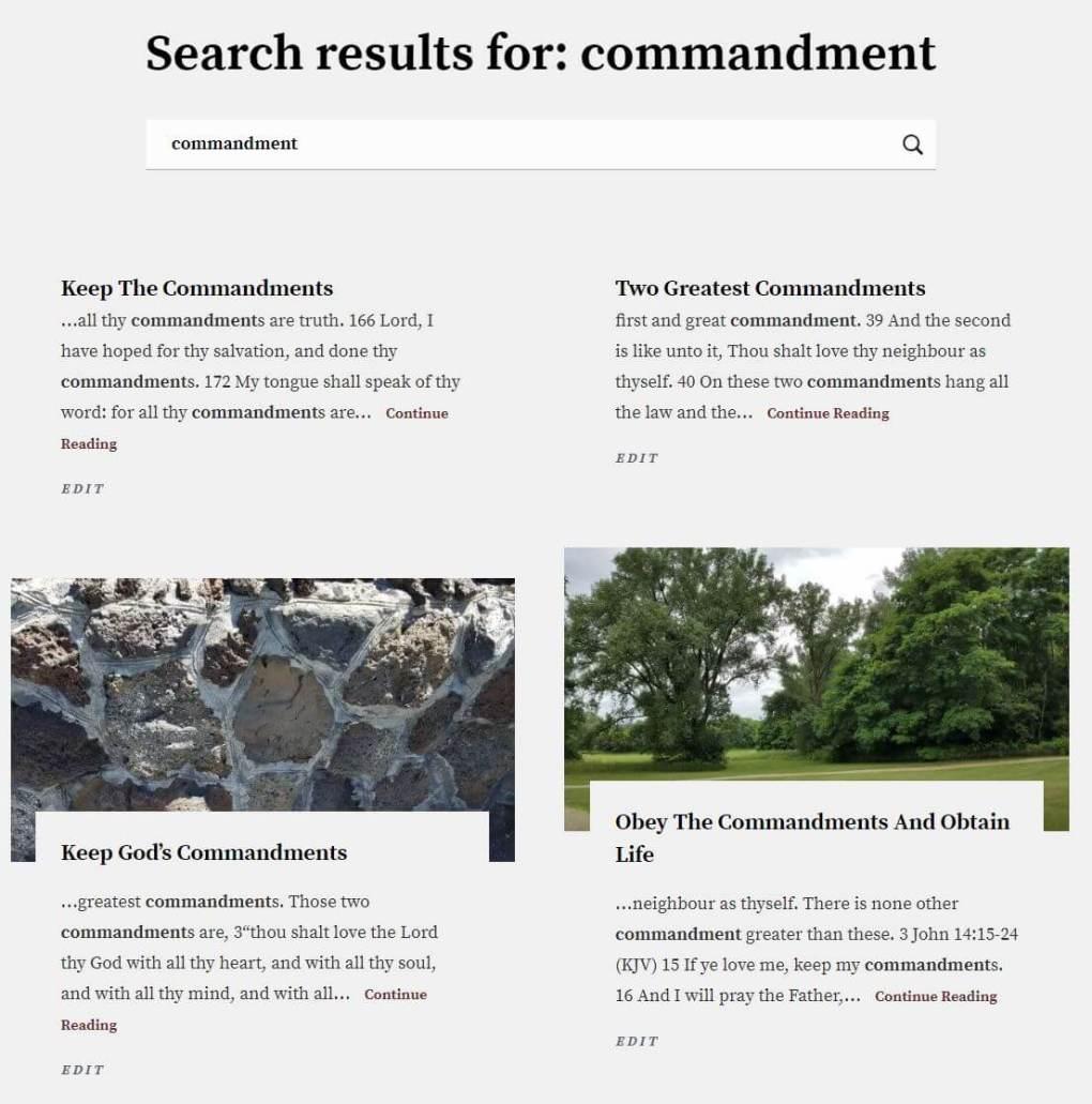 Topics_Menu_Commandemnt_Result