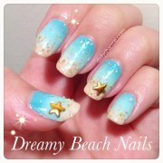 golden star nail design daily