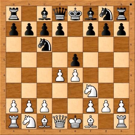 Position after 3. d4.